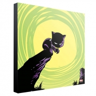 Marvel - Tableau en bois Black Panther by Skottie Young 30 x 30 cm