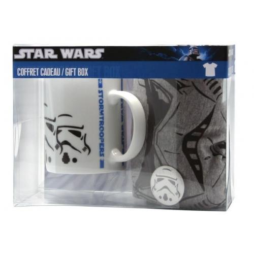 STAR WARS - Pack Galactic Empire sport grey (TS141 + Mug034 + badge)