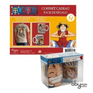ONE PIECE - Pack Luffy Wanted (TS184 + Mug032)