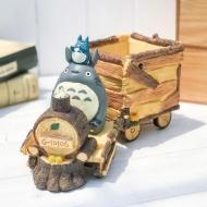 Mon Voisin Totoro - Pot à fleurs Totoro Train 25 cm