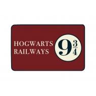 Harry Potter - Tapis Hogwarts Railways 9 3/4 80 x 50 cm