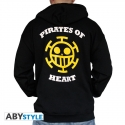 ONE PIECE - Sweat - Trafalgar Law homme black