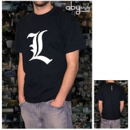 DEATH NOTE - Tshirt L tribute homme MC black - basic