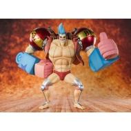 One Piece - Statuette FiguartsZERO Cyborg Franky 20 cm