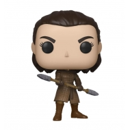Game of Thrones - Figurine POP! Arya w/Two Headed Spear 9 cm