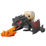 Game of Thrones - Figurine POP! Daenerys on Fiery Drogon 18 cm
