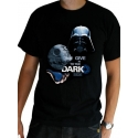 STAR WARS - Tshirt Dark Side MC black
