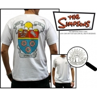 SIMPSONS - Tshirt Beer TV Donuts homme MC white - basic
