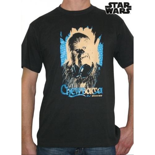 STAR WARS - Tshirt DJ Wookie MC dark grey