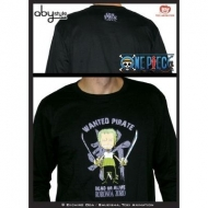 ONE PIECE - Tshirt Zoro ML black