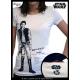 STAR WARS - Tshirt Han Solo femme MC white - basic