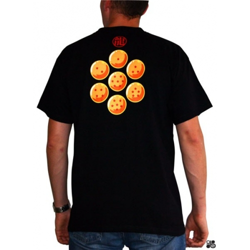 DRAGON BALL - Tshirt DB/ Boules de cristal homme MC black