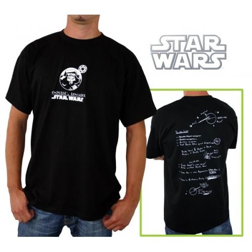 STAR WARS - Tshirt Emperor\'s Reminder homme MC black - basic
