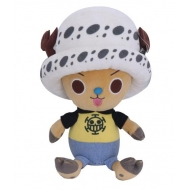 One Piece - Peluche Chopper x Law 20 cm