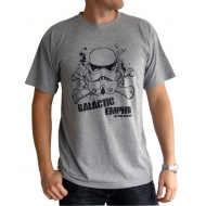 STAR WARS - Tshirt Galactic Empire homme MC sport grey - basic