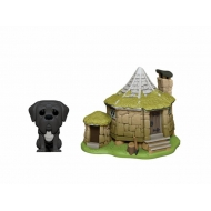 Harry Potter - Figurine POP! Hagrid's Hut & Fang 9 cm