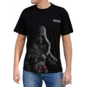 ASSASSIN\'S CREED - Tshirt Revelations homme MC Noir