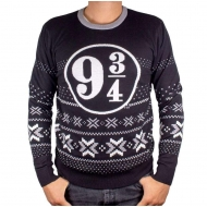 Harry Potter - Sweat Christmas Platform 9 3/4 Black