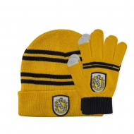 Harry Potter - Set bonnet & mitaines enfant Hufflepuff