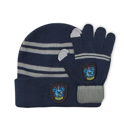 Harry Potter - Set bonnet & mitaines enfant Ravenclaw