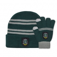 Harry Potter - Set bonnet & mitaines enfant Slytherin