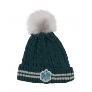Harry Potter - Bonnet a Pom-Pom Slytherin