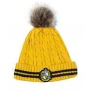 Harry Potter - Bonnet à Pom-Pom Hufflepuff