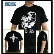 ONE PIECE - Tshirt ACE MC black