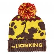 Le Roi Lion - Bonnet Pompon Logo Le Roi Lion