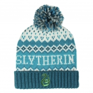 Harry Potter - Bonnet Pompon Slytherin