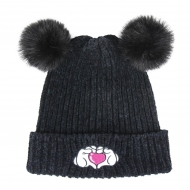 Disney - Bonnet Pompon enfant Minnie Heart