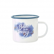 La Reine des neiges 2 - Mug émail Believe in the Journey