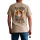 ONE PIECE - Tshirt Wanted Luffy MC sand