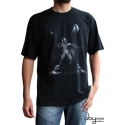STAR WARS - Tshirt Dark Vador disco homme MC black