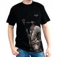 ASSASSIN\'S CREED - Tshirt ASC III Connor MC black