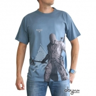 ASSASSIN'S CREED - T-shirt Connor MC stone blue