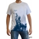 ASSASSIN\'S CREED - Tshirt Connor à genoux homme MC white - basic
