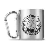 Rick et Morty - Mug Carabiner Rick and Morty