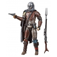 Star Wars The Mandalorian - Figurine Black Series Carbonized The Mandalorian 15 cm