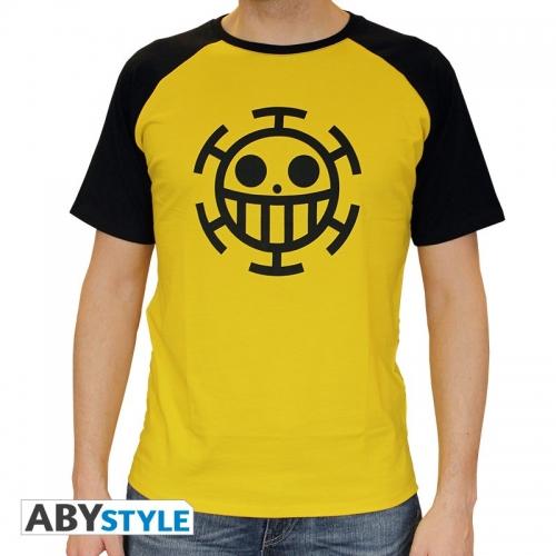 ONE PIECE - Tshirt Trafalgar Law homme MC jaune - premium