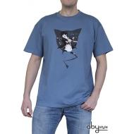 BLUE EXORCIST - Tshirt Rin homme MC stone blue - basic