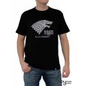 GAME OF THRONES - Tshirt Winter is coming homme MC black - basic