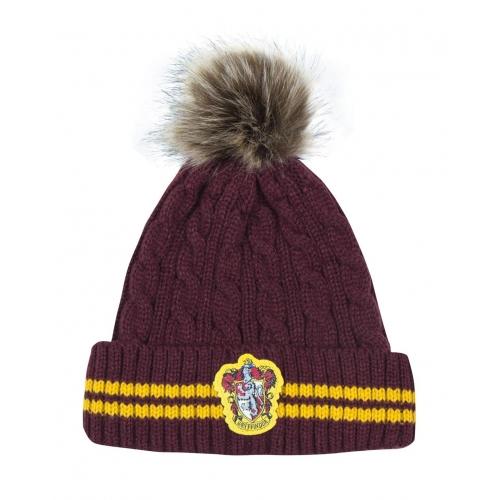 Harry Potter - Bonnet a Pom-Pom Gryffindor