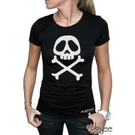 ALBATOR - Tshirt Emblème femme MC black - basic