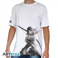 TOMB RAIDER - Tshirt Lara Croft homme MC white - basic