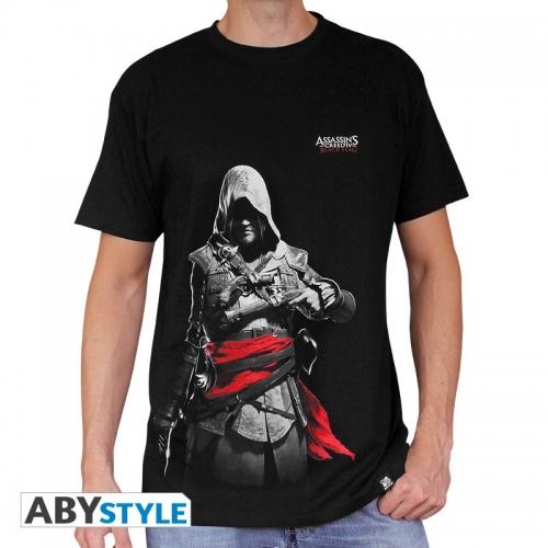 ASSASSIN'S CREED - Tshirt Edward homme MC black - basic