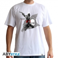 ASSASSIN'S CREED - Tshirt Edward Flag homme MC white - basic
