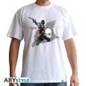 ASSASSIN'S CREED - T-shirt Edward Flag blanc