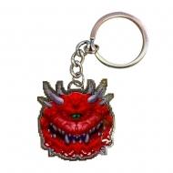 Doom - Porte-clés métal Cacodemon Limited Edition 4 cm