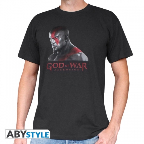 GOD OF WAR - T-Shirt Kratos homme MC black used